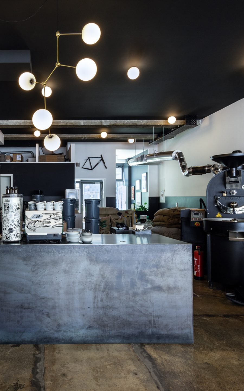 Kaffeerösterei im Glockenbachviertel, München (coming soon)