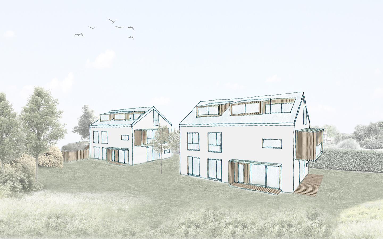 Neubau Mehrfamilienhäuser in Ottobrunn