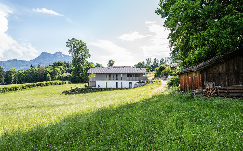 Neubau Einfamilienhaus am Samerberg