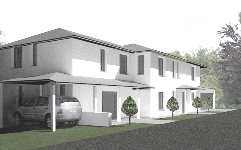 Neubau Zweifamilienhaus in Gauting