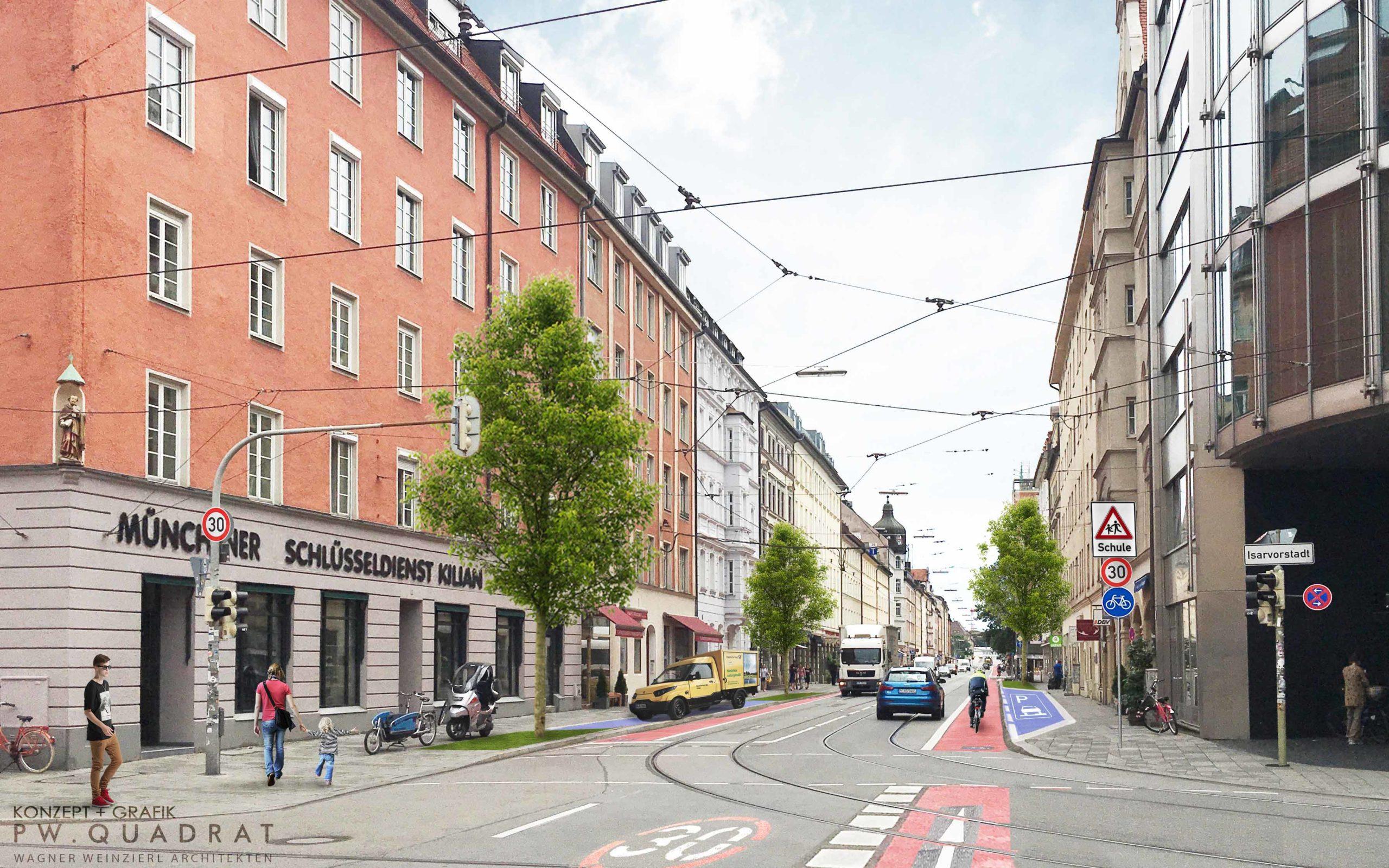 Neugestaltung Fraunhoferstraße